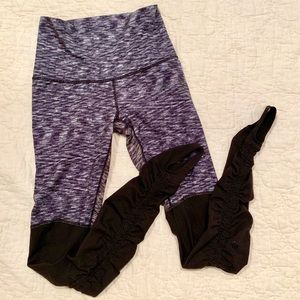 🍋lululemon two toned leggings with stirrups